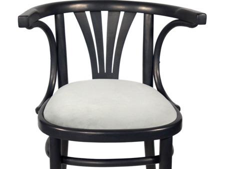 Unikatowe Krzesło Fotel Drewniany Gięty Przedwojenny Fabryka Mebli Giętych w Bondyrzu Vintage